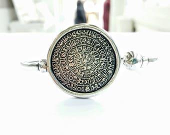 Disc of Phaestos bracelet Festos Crete Minoan Knossos