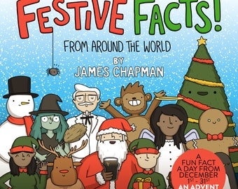 Festive Facts Advent Book Calendar