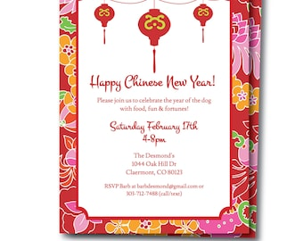 asian party invitation chinese new years party chinese party invitation editable asian themed invite edit now templett