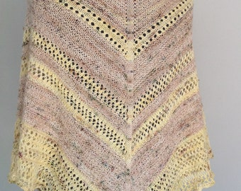 """Knitting Pattern.... """"Thornfield"""" Shawl inspired by Jane Eyre"""