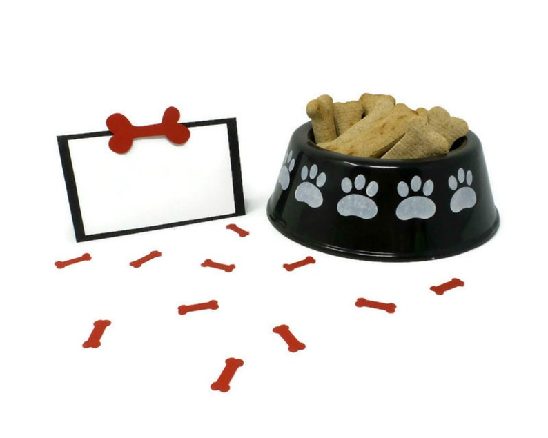 Place Cards Dog Party Favors Gotcha Day Dog Birthday Party
