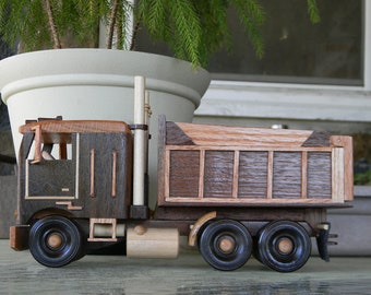 Wood Cabover Dump Truck #1