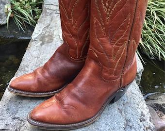 women artificial leather martin boots for women's vintage cowboy shoes