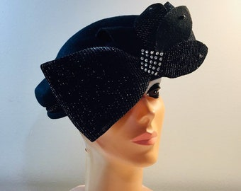 224a3f076d689 Vintage Church Lady   Statement   Black Wool