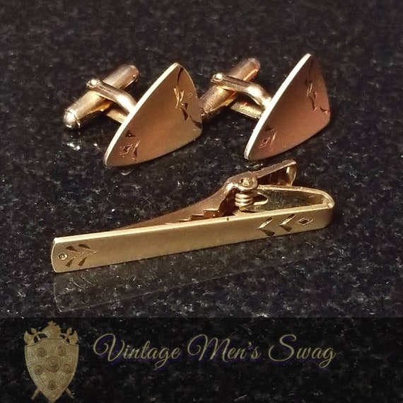 Vintage Cufflinks Anson diamond cut offered by Vintage Men/'s Swag Yx-6  adk-7