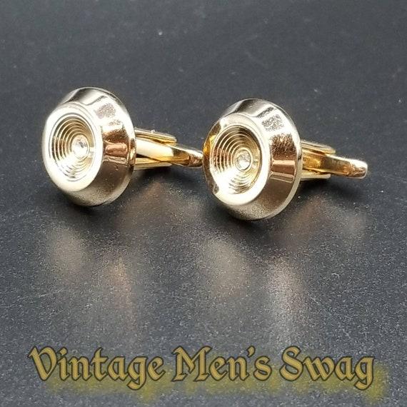 Vintage cufflinks elegant formal by Flex-let offered by Vintage Men/'s Swag Vb-17