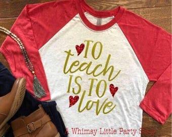 Teacher Valentine Etsy