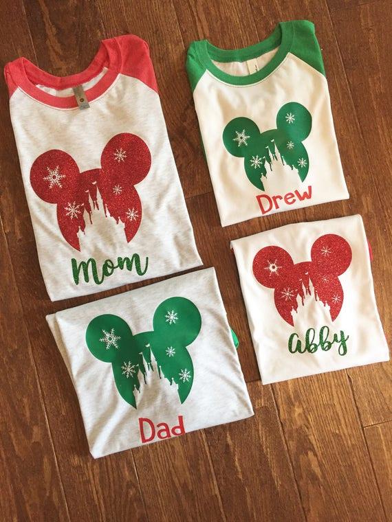 1526b5e2 Disney Christmas Shirt, Mickey Christmas Shirt, Mickey Very Merry Christmas  Party Shirt, Disney Christmas Vacation Shirt Dismey Family