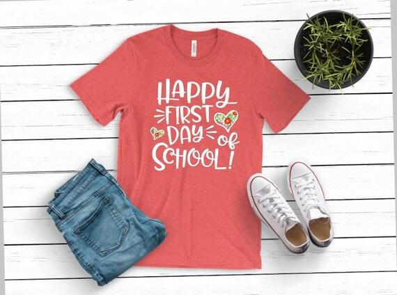 Teacher First Day of School Shirt, Teacher Back to school shirt, Teacher  Shirt, First Day of School Shirt, First Day of School Teacher Shirt