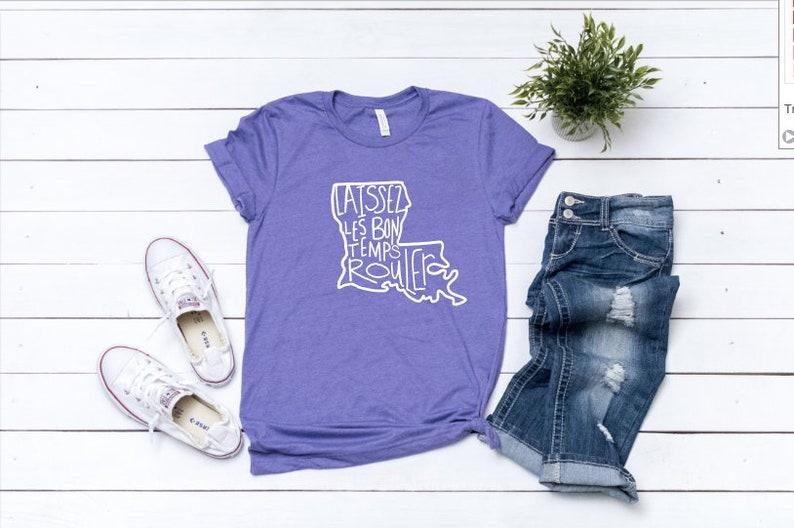 3379fb8c Laissez Les Bon Temps Rouler Shirt Let the Good Times Roll | Etsy