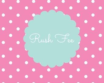 Upgrade - Rush Fee