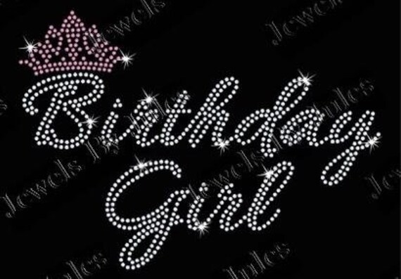 Birthday Girl Bling Shirts Gift For Her Best Selling Gift