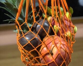 Market Bag Mesh bag by EcoGG #97-mini Gift Cotton bag Reusable bag Eco Bag Shopping bag Bags of fruit