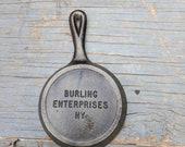 Burling Enterprises NY Advertising miniature skillet