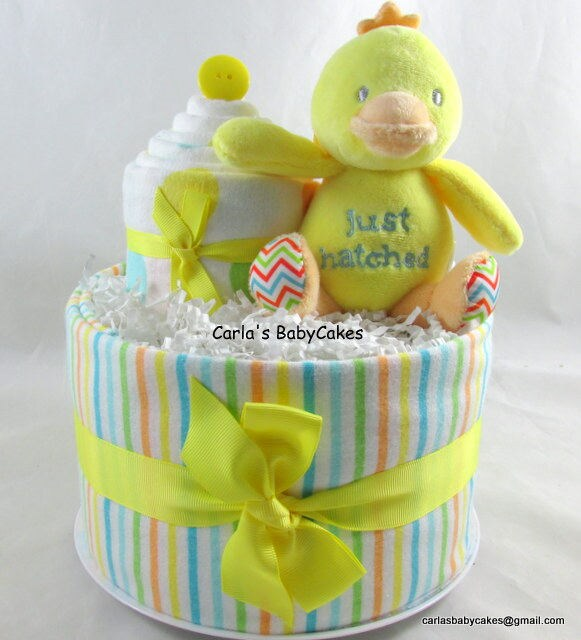 Baby Diaper Cake Baby Shower Gift New Mom Gift Unique Etsy