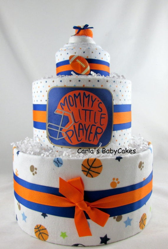 Sport Windel Kuchen Junge Windeltorte Baby Windel Kuchen Etsy