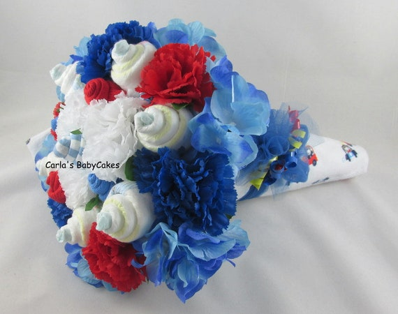 Baby Floral Bouquet Baby Shower Bouquet New Mom Gift Baby Etsy