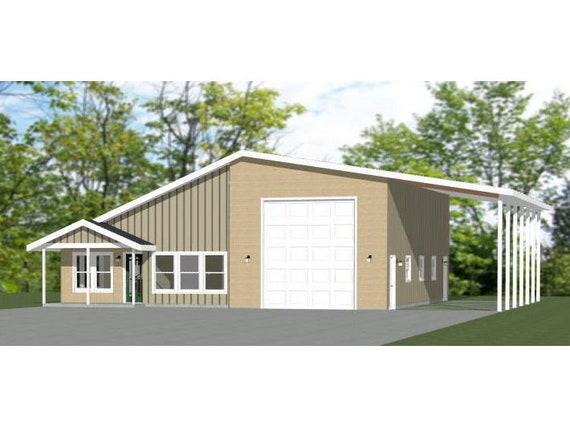 Building Plans Blueprints 1 157 Sqft 2 Bedroom 2 Bath 1 Rv Model 4e 46x48 House Pdf Floor Plan Home Furniture Diy