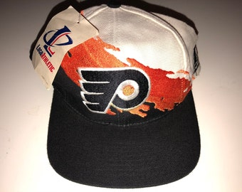 10685749 Deadstock New Nwt Vintage NHL Hockey Philadelphia Flyers Logo Athletic  Shark Tooth Splash Snapback Hat Cap Deadstock