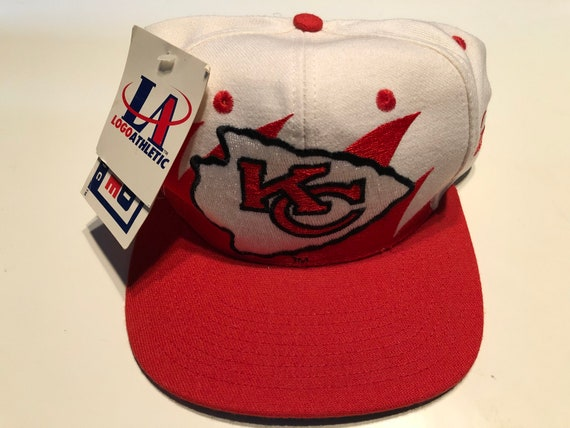 Deadstock New Nwt Vintage Nfl Football Kansas City Chiefs Logo  900c985ad