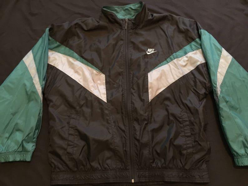 bb4df613f19883 Vintage 90s Black Unisex Nike Green Air Michael Jordan