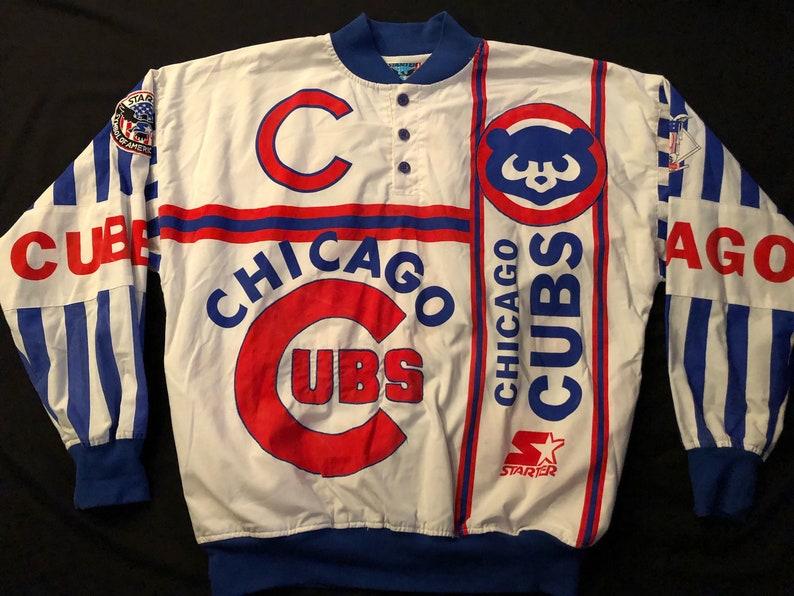 0d4428d78c0 Rare Vintage Unisex MLB Chicago Cubs Cubbies Baseball Starter