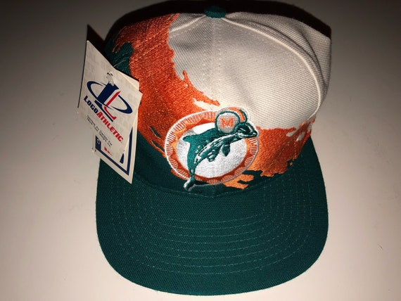 NWT New Vintage Deadstock Miami Dolphins Nfl Football Logo  abcce6dfc