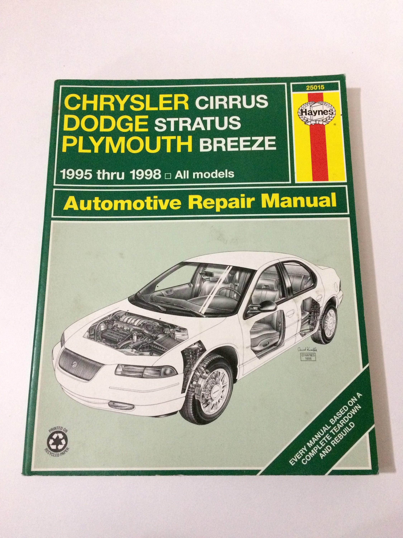 1998 dodge stratus wiring diagram 3ae91 chrysler cirrus dodge stratus plymouth breeze automotive  3ae91 chrysler cirrus dodge stratus