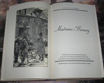 1950 Madame Bovary Hardcover Book