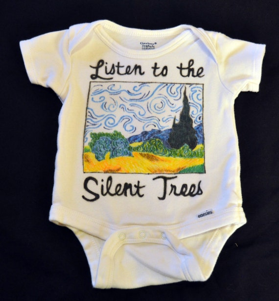 Walls Of The Cave Van Gogh Phish Child Or Baby Onesie Or Shirt