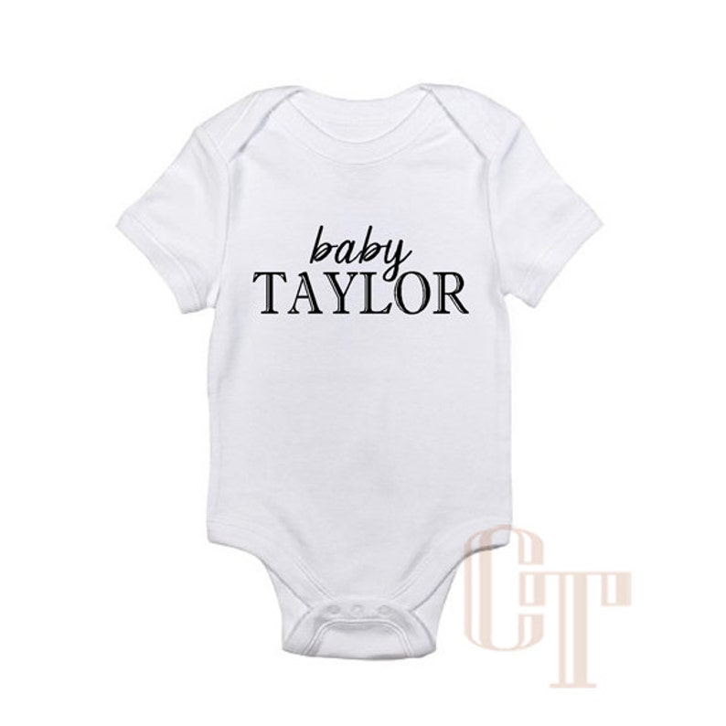 92dcaa8a954dc Custom NAME Baby Girl Boy Unisex Infant Onesie Bodysuit Shower   Etsy