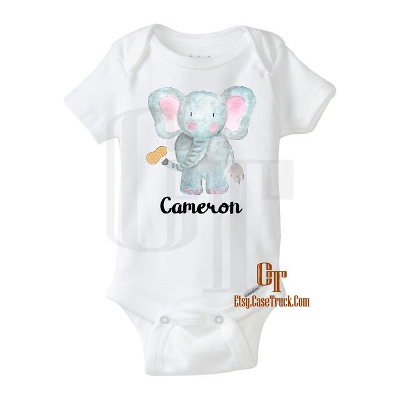 58725206d31c2 Custom Name Baby Onesie Unisex Baby Clothes Baby Girl   Etsy