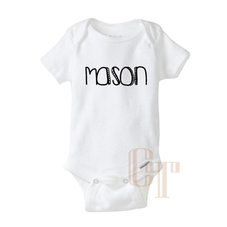 87188f18697d7 Custom NAME Customized Personalized Baby Girl Boy Unisex   Etsy