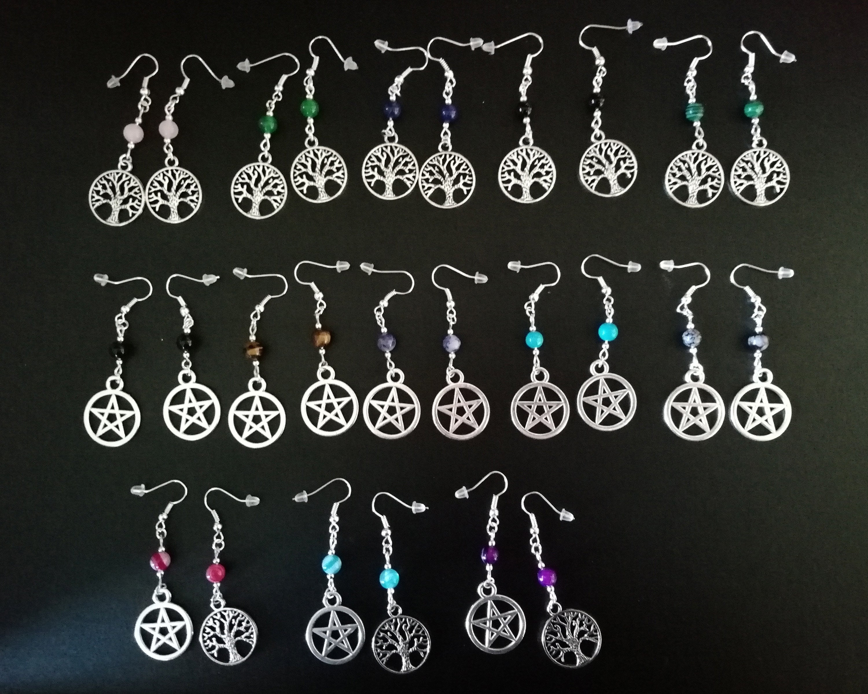 Tarot Card pagan wicca charms for crafts or jewellery making x 5 tibetan silver