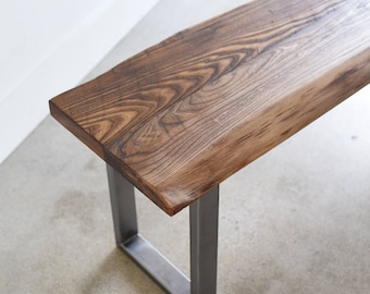 Groovy Reclaimed Wood Bench Etsy Machost Co Dining Chair Design Ideas Machostcouk