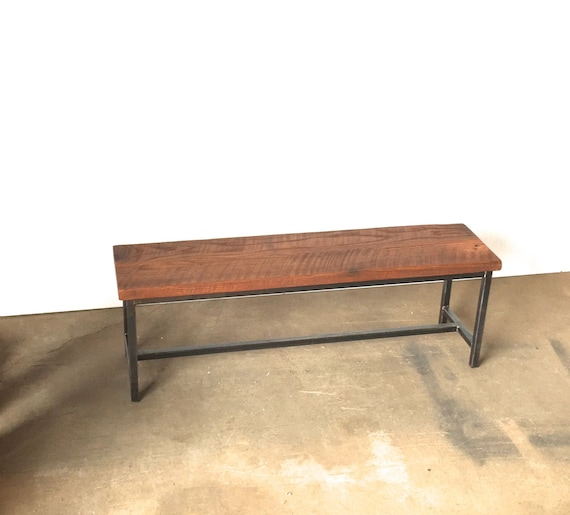 Awesome Industrial Reclaimed Wood Bench Squirreltailoven Fun Painted Chair Ideas Images Squirreltailovenorg