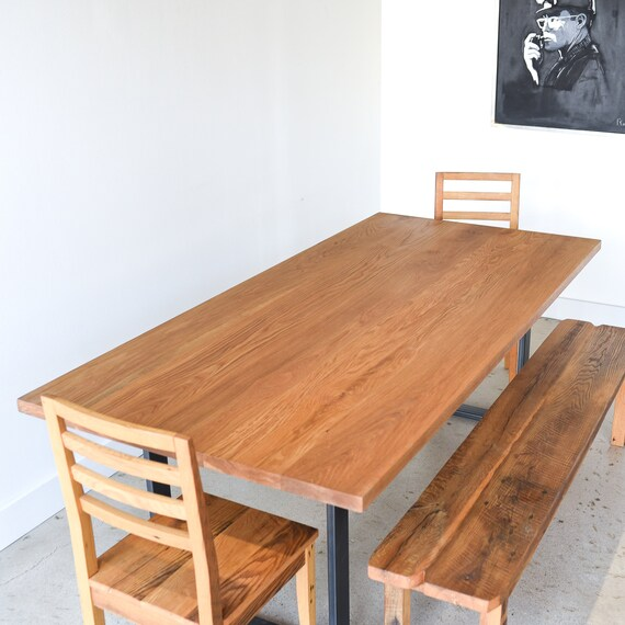 Dining Table / Solid White Oak Kitchen Table