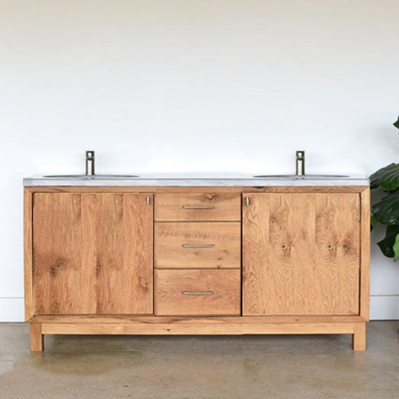60 Farmhouse Vanity Reclaimed Wood Bathroom Vanity Etsy