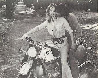 Vintage Bmw Motorcycle Etsy