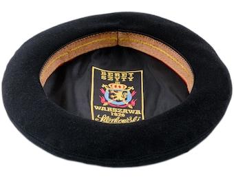 f53e0f4953d GRAND CLASSIC - Sewn Men s Beret Wool Cloth French Artist Bohemian Beatnik  Military Army Boy Scout Reservist Warm Winter Autumn Beret Hat
