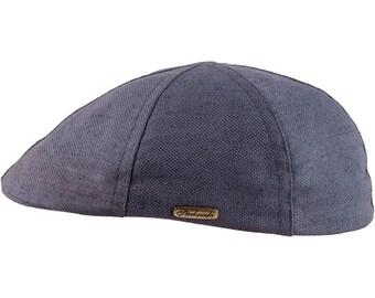 RUSTY - gorra con pico de pato de verano de lino y algodón - gris de9f9fca9bb