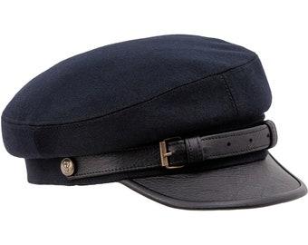 9970b851375 LEGION MACIEJOWKA - Jozef Pilsudski Polish Rifleman Historical Wool Cloth  Leather Bill Hat Collectible Military Headgear Big Size XXXL Cap