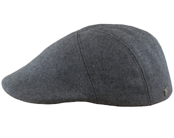92d9bc23a42dc1 IVY FIVE Wool Quilted Padded Lining English Men Flat Cap Sixpence Vergon  Derby Irish Newsboy Golf Duckbill Ivy League Driving Bicycle Paddy