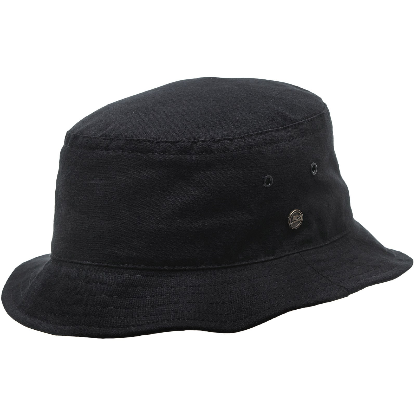 GOLF sombrero piluso pescador de algodón negro  70f8ce5206c