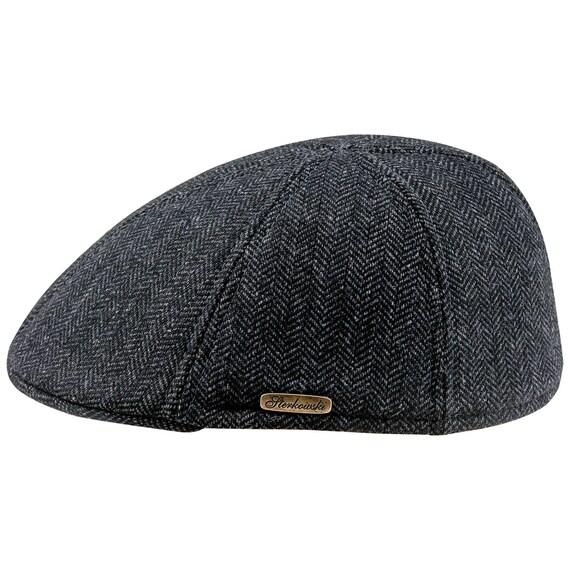 15a71483509 FRANK Warm Men s Classic Duckbill Wool Cloth Herringbone