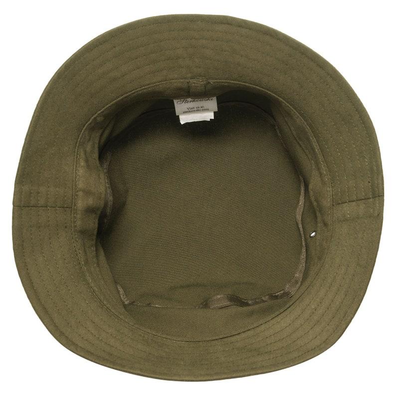 GOLF sombrero piluso pescador de algodón oliva  26f8c19b6c2