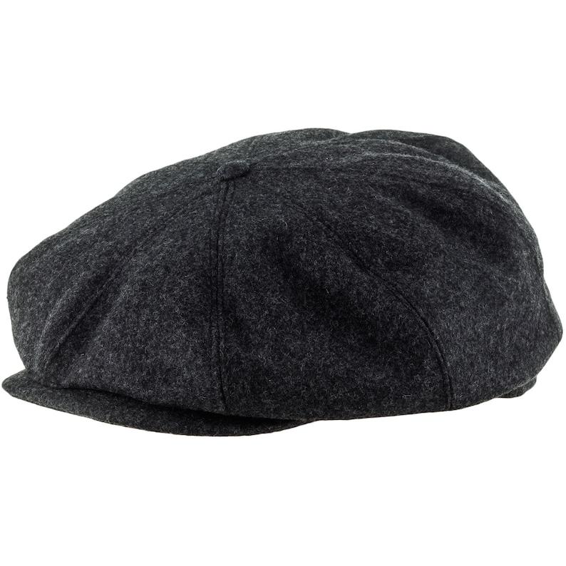6f0983e4a6bce PEAKY BLINDERS gorra de lana pura gris oscuro