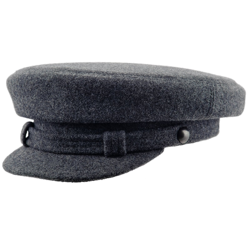 909a465fec387 MACIEJOWKA MODEL 2 Traditional Polish Wool Cloth Peaked Cap