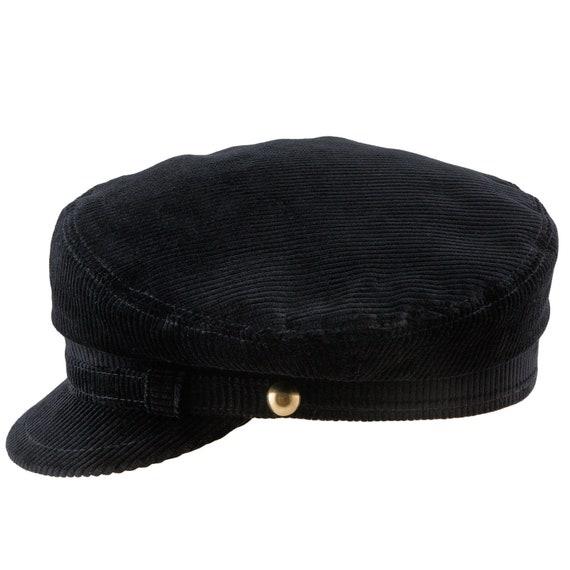 LENNON Corduroy Cotton Breton Liverpool Mod Hat Greek  96c497fc164
