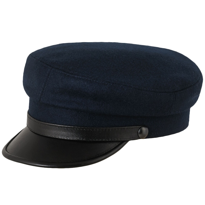 1acb5332cf6 MACIEJOWKA MODEL 4 Traditional Polish Peaked Cap Wool Crown